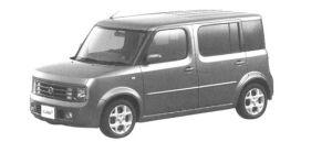 Nissan Cube EX XTRONIC <CVT-M6> 2004 г.