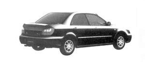 Subaru Impreza Sedan 15i Limited 2004 г.