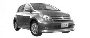 "Toyota Ist 1.5S ""L Edition Aero Sports Package"" 2004 г."