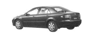 Mazda Atenza Sedan 23E 2004 г.