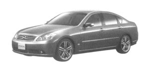 Nissan Fuga 350GT Sports Package 2004 г.