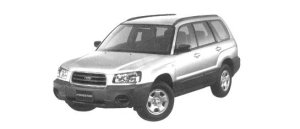Subaru Forester X 2004 г.