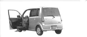 Daihatsu Move Front Seat Life 2WD 2004 г.