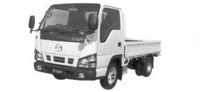 Mazda Titan 2 ton 4.8 liter Full Wide &Low, 4WD, Narrow Cabin, Delux 2004 г.