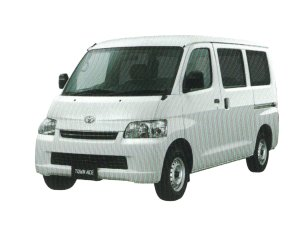 Toyota Town Ace Van GL (2WD - 4AT) 2020 г.