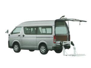 Toyota Regiusace Van Van with Lifter 2020 г.
