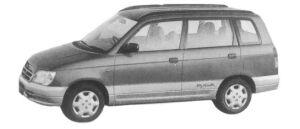 Daihatsu Pyzar CL 1997 г.