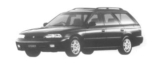 Subaru Legacy TOURING WAGON 4WD TX TYPE S LEAN BURN 1997 г.