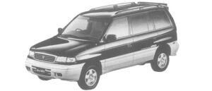 Mazda Efini MPV TYPE R-TOURING 2500 DIESEL TURBO 1997 г.
