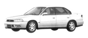 Subaru Legacy TOURING SEDAN 250T 1997 г.