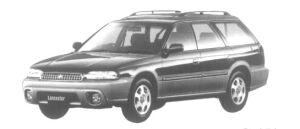 Subaru Legacy Lancaster  1997 г.