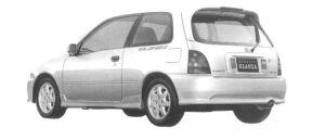 Toyota Starlet GLANZA V EXCELENT PACKAGE 1997 г.