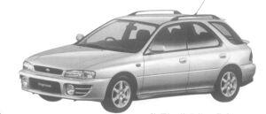 Subaru Impreza SPORTS WAGON HX-20S 1997 г.