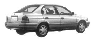 Toyota Corsa VIT-X 1500EFI SALOON PACKAGE 1997 г.