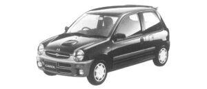 Mazda Carol XR TURBO 1997 г.