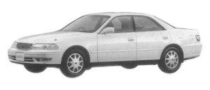 Toyota Mark II 3.0 GRANDE G 1997 г.