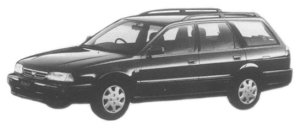 Nissan Avenir SALUT X (4WD) 1997 г.