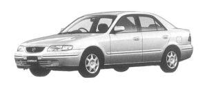 Mazda Capella Gi-R 1997 г.