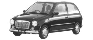 Subaru Vivio BISTRO L 3DOOR 1997 г.