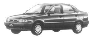 Suzuki Cultus Crescent 4DOOR 1500  F SELECTION 1997 г.