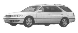 Toyota Mark II Wagon 3.0 QUALIS G 1997 г.