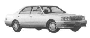 Toyota Crown 4DOOR 3.0 ROYAL SALOON G 1997 г.