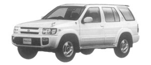 Nissan Terrano Regulus 3200 INTERCOOLER TURBO RS-R LIMITED 1997 г.
