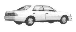 Toyota Crown 4DOOR HARD TOP 2.0 1997 г.