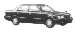 Toyota Crown SEDAN 3.0 ROYAL SALOON G 1997 г.
