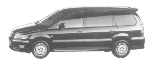 Mitsubishi Chariot EXCEED 2WD 1997 г.