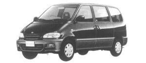 Nissan Serena 2WD FX-II GASOLINE 2000 1997 г.