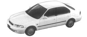 Honda Domani 15E 1997 г.