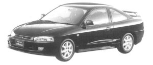 Mitsubishi Mirage Asti ZR 1997 г.