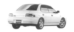 Subaru Impreza PURE SPORTS SEDAN WRX TYPE RA 1997 г.