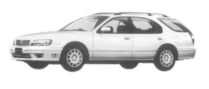 Nissan Cefiro Wagon 20 CRUISING 1997 г.