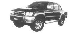 Toyota Hilux SPORTS PICK UP 4X4 W CAB, WIDE BODY 1997 г.