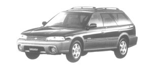 Subaru Legacy Lancaster LIMITED 1997 г.