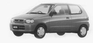 Suzuki Alto LEPO LEAN BURN ENGINE SPEC. 3DOOR 1999 г.