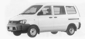 Toyota Liteace VAN 2WD SUPER SINGLE JUST LOW, HIGH ROOF 1999 г.