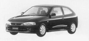 Mitsubishi Mirage 3DOOR X 1999 г.