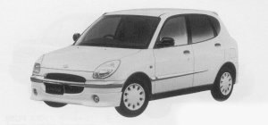 Daihatsu Storia CUSTOM 1999 г.