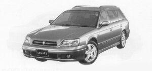 Subaru Legacy TOURING WAGON 250T-B 1999 г.