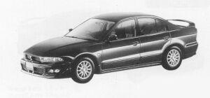 Mitsubishi Galant VIENTO 1999 г.