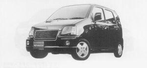 Mazda AZ-Wagon RR-F TURBO FULLTIME 4WD 1999 г.