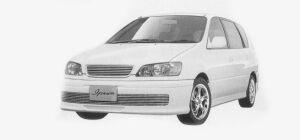 Toyota Ipsum U.S. CUSTOM 1999 г.