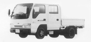 Nissan Diesel Condor 20 DOUBLE CAB, STANDARD, FULL SUPER LOW 1999 г.