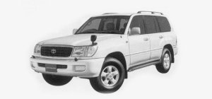 "Toyota Land Cruiser 100 WAGON VX LIMITED ""G SELECTION"" 1999 г."