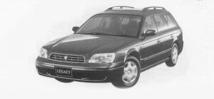 Subaru Legacy TOURING WAGON TX 1999 г.