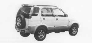 Daihatsu Terios CX 1999 г.
