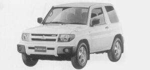Mitsubishi Pajero IO 3DOOR ZR 2WD 1999 г.